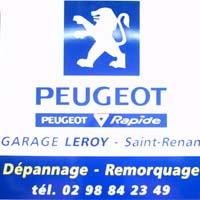 Saint renan tennis de table partenaires for Garage peugeot saint jorioz